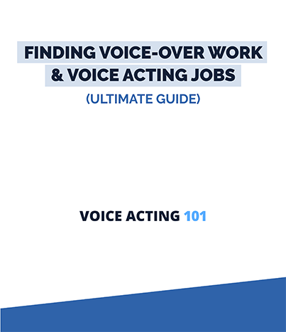 find voiceover work and voice-over jobs