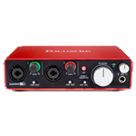 focusrite 2i2 for voice-over