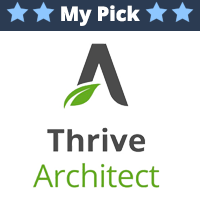 thrive architect for voice-over websites
